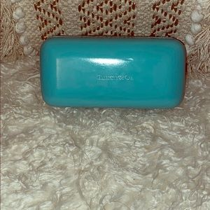 Tiffany sunglass case